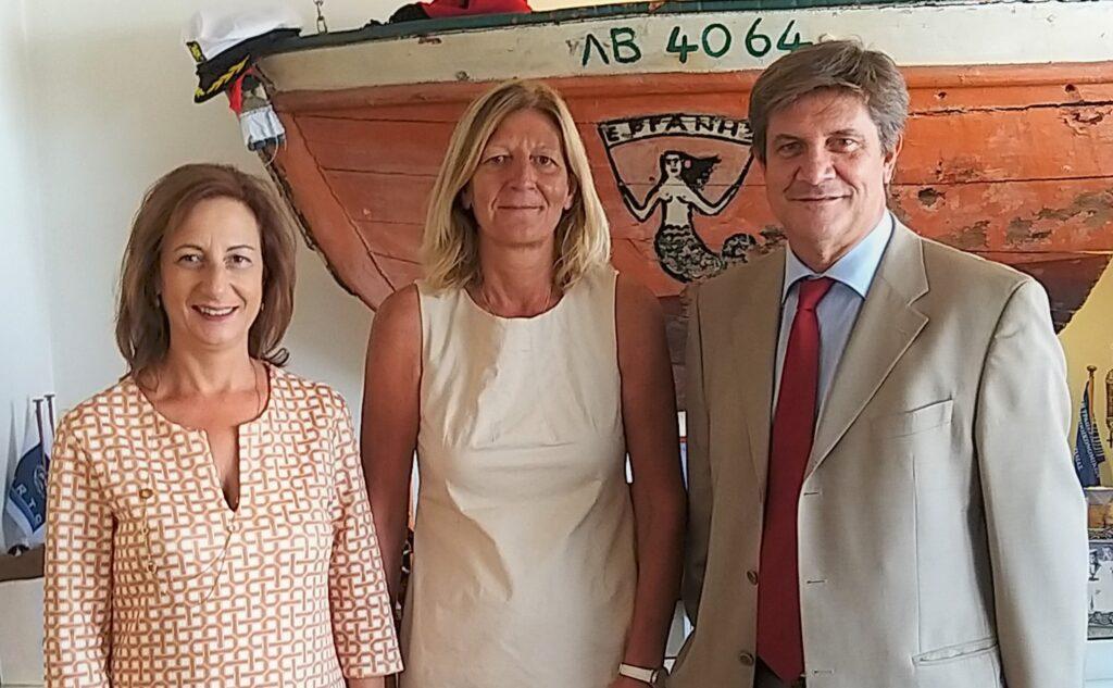 Mrs. Katerina Fitsiou, Mrs. Emmanuelle Boulestreau, Mr. George Xiradakis